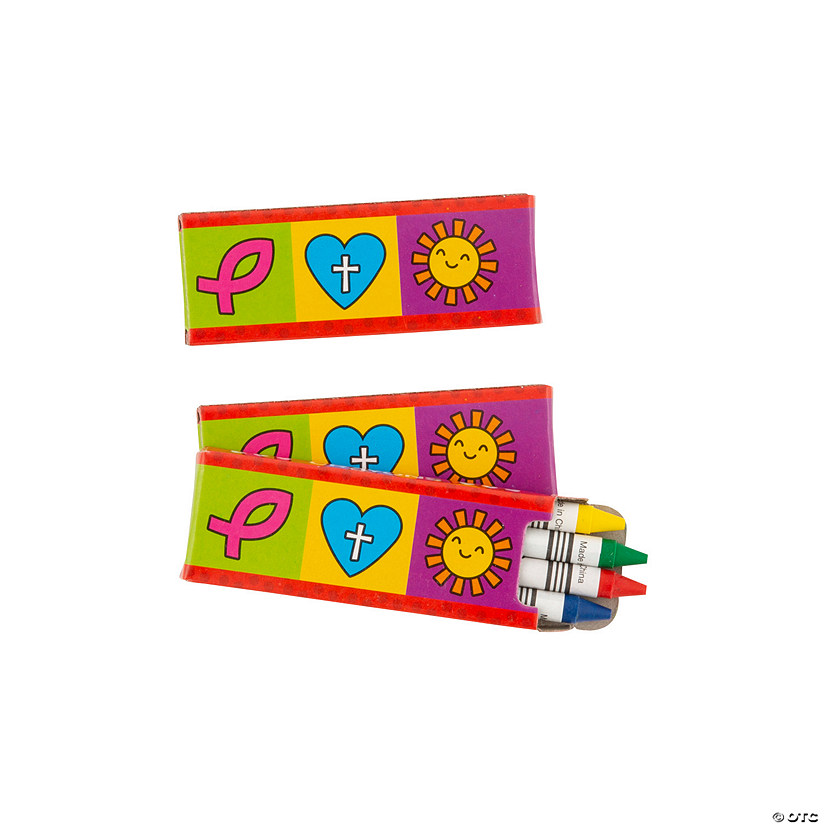 4-Color Religious Valentine's Day Crayons - 24 Boxes Audio Thumbnail