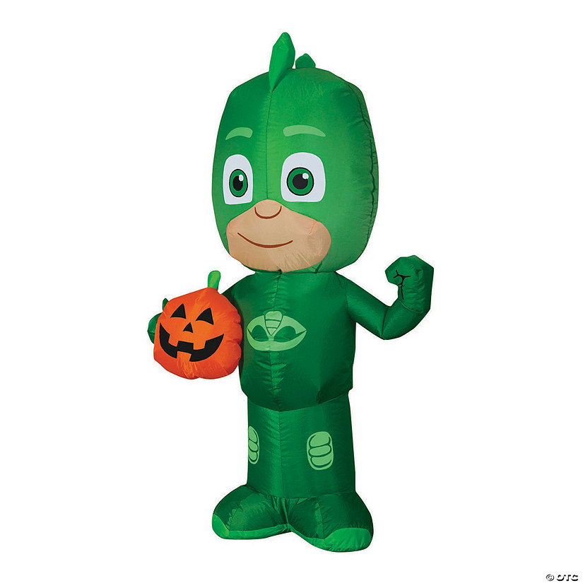 "42"" Blow Up Inflatable Gekko with Jack-O'-Lantern Halloween Decoration Audio Thumbnail"
