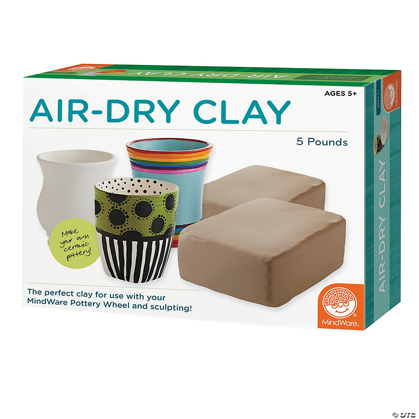 5 lb Air-Dry Clay Refill Audio Thumbnail
