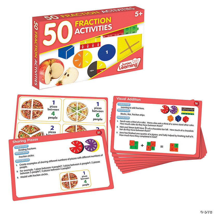 50 Fraction Activities Audio Thumbnail