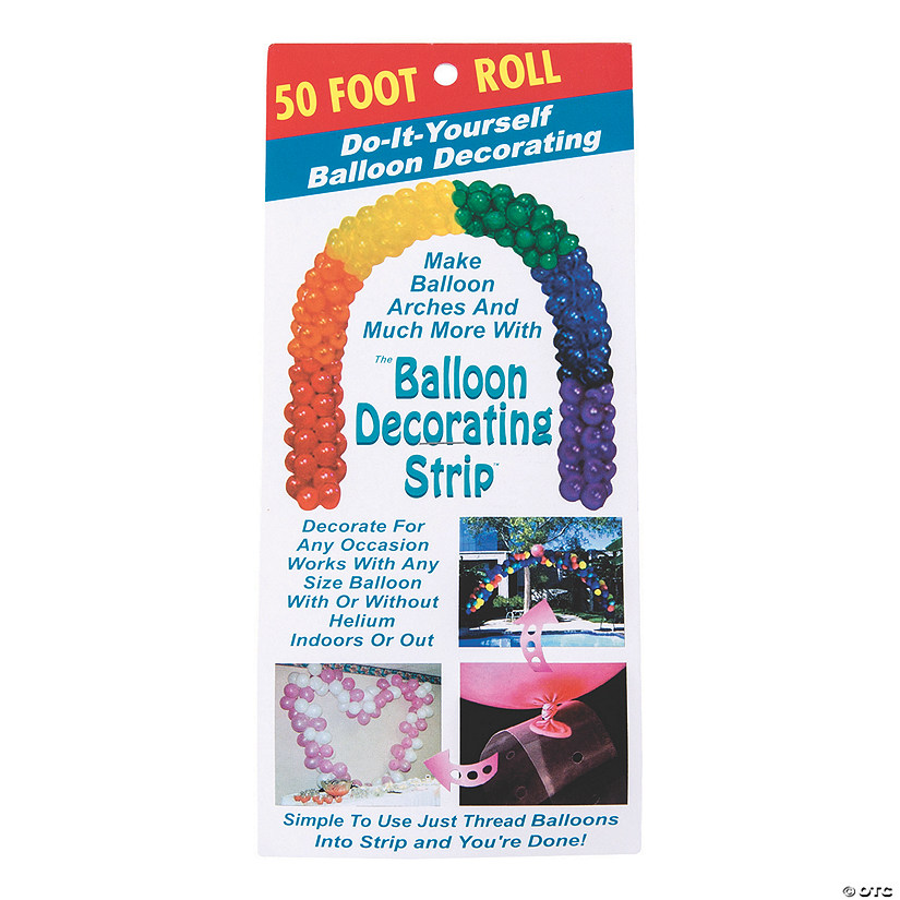 50-Ft. Balloon Decorating Strip Audio Thumbnail