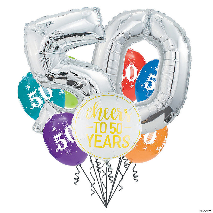 50th Birthday Balloon Bouquet Audio Thumbnail