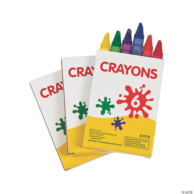 6-Color Crayons - 48 Boxes Audio Thumbnail