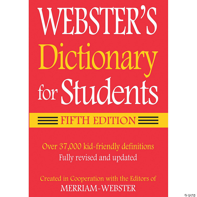 (6 Ea) Webster Dictionary For Audio Thumbnail