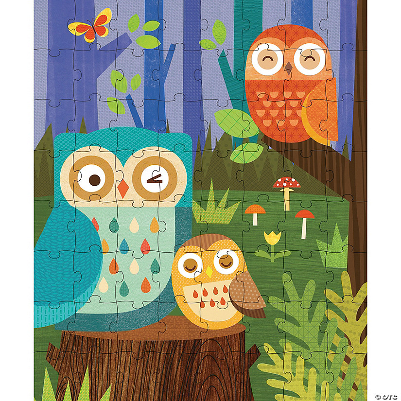 64-Piece Tin Canister Puzzle: Owl Family Audio Thumbnail