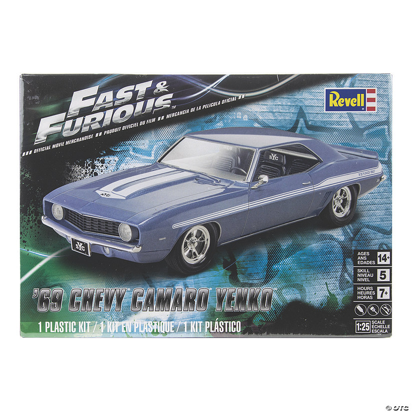 '69 Chevy Camaro Yenko Plastic Model Kit Audio Thumbnail