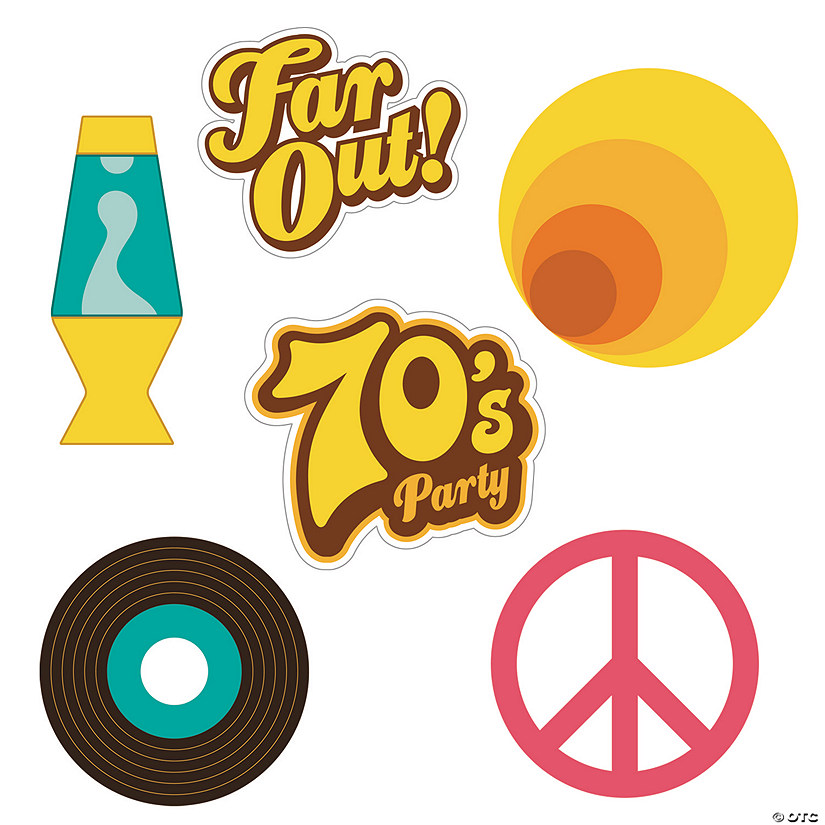 70s Party Cutouts Audio Thumbnail