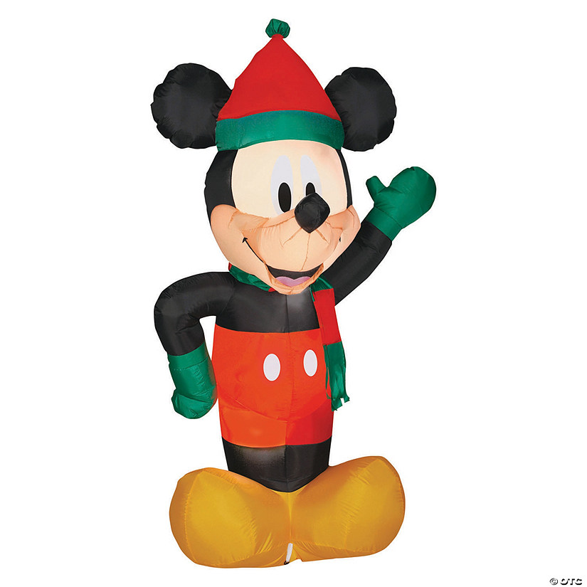 "72"" Blow Up Inflatable Holiday Mickey Mouse Audio Thumbnail"