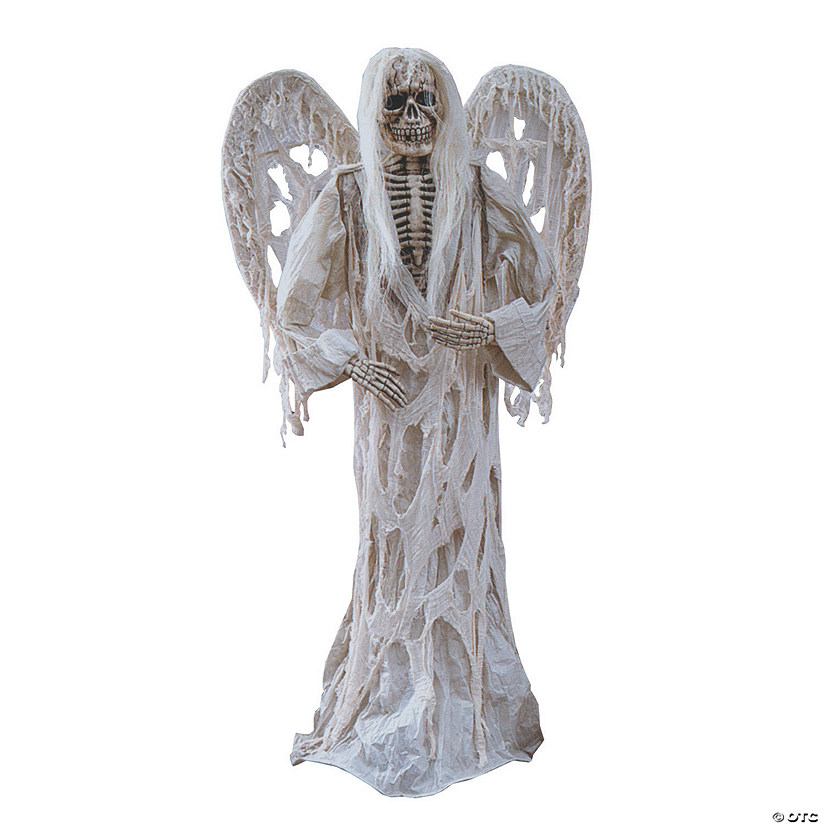 "72"" Gauze Demon With Wings Halloween Decoration Audio Thumbnail"
