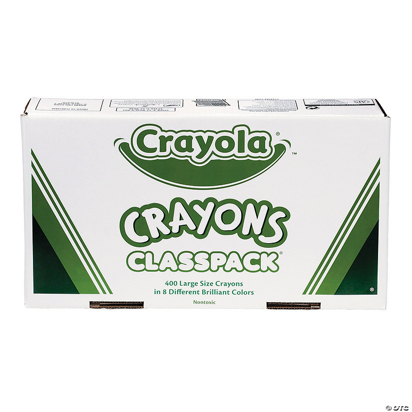8-Color Crayola<sup>®</sup> Large Crayons Classpack