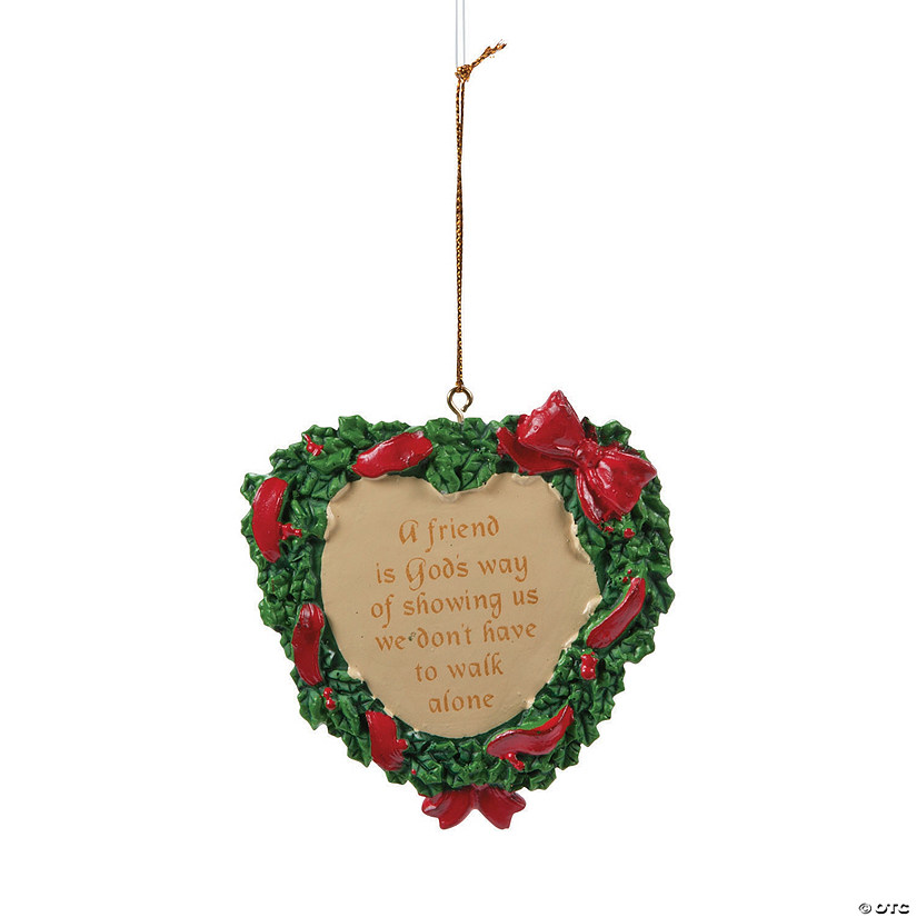 """A Friend Is God's Way..."" Christmas Ornaments Audio Thumbnail"