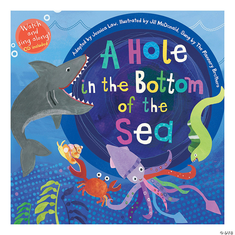 A Hole in the Bottom of the Sea - Paperback w/CD, Qty 3 Audio Thumbnail