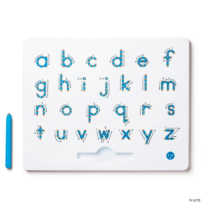 a to z Lower Case Magnatab Magnetic Drawing Tablet Image Thumbnail