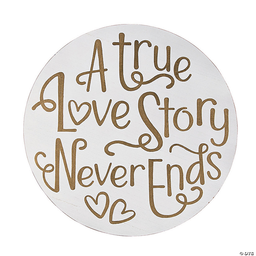 A True Love Story Sign Image Thumbnail
