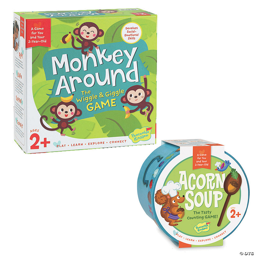 Acorn Soup and Monkey Around: Set of 2 Image Thumbnail
