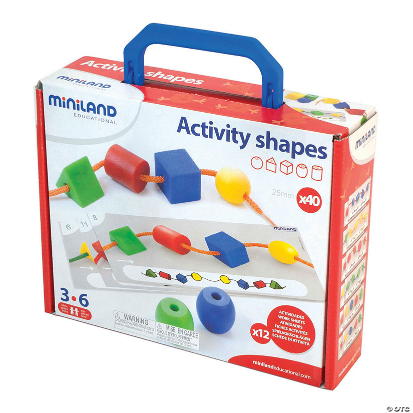 Activity Shapes (Giant Beads) and Laces Image Thumbnail