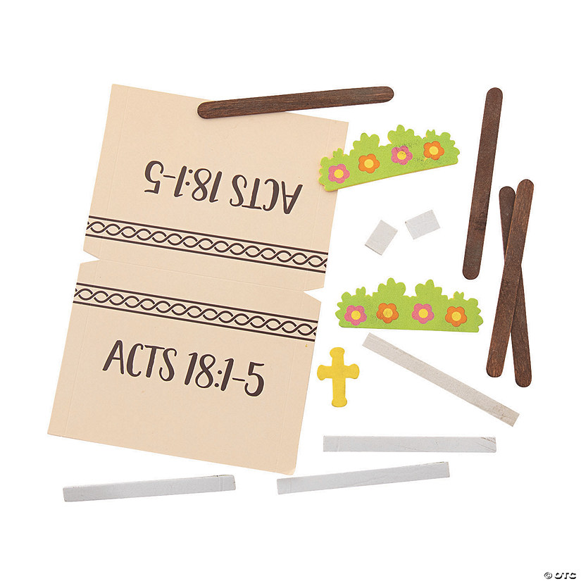 Acts 18:1-5 Tent Craft Kit Audio Thumbnail