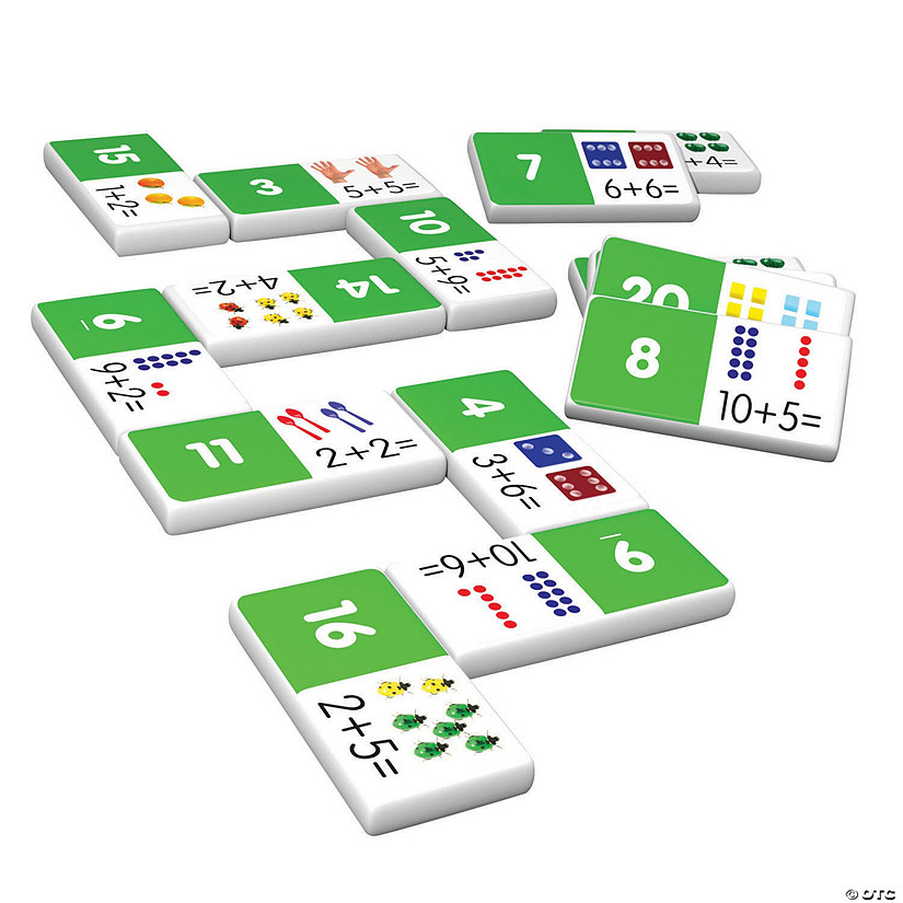 Addition Dominoes Set Audio Thumbnail