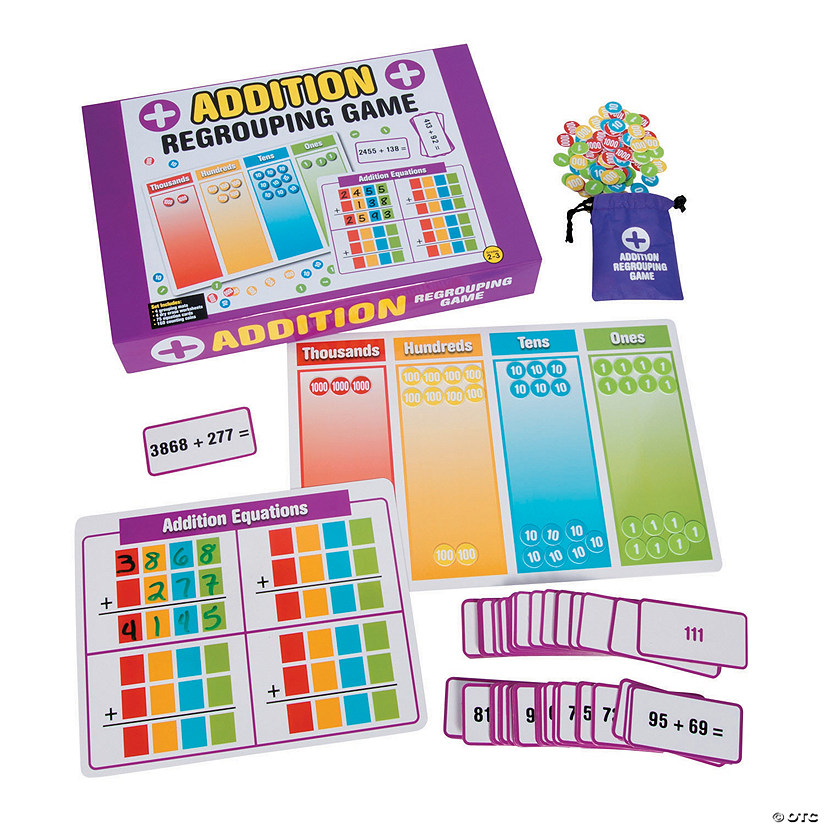 Addition Regrouping Game