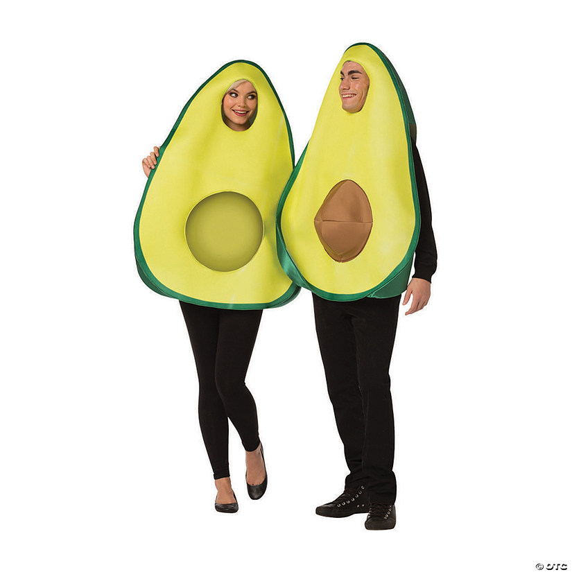 Adult Avocado Couples Costume Audio Thumbnail