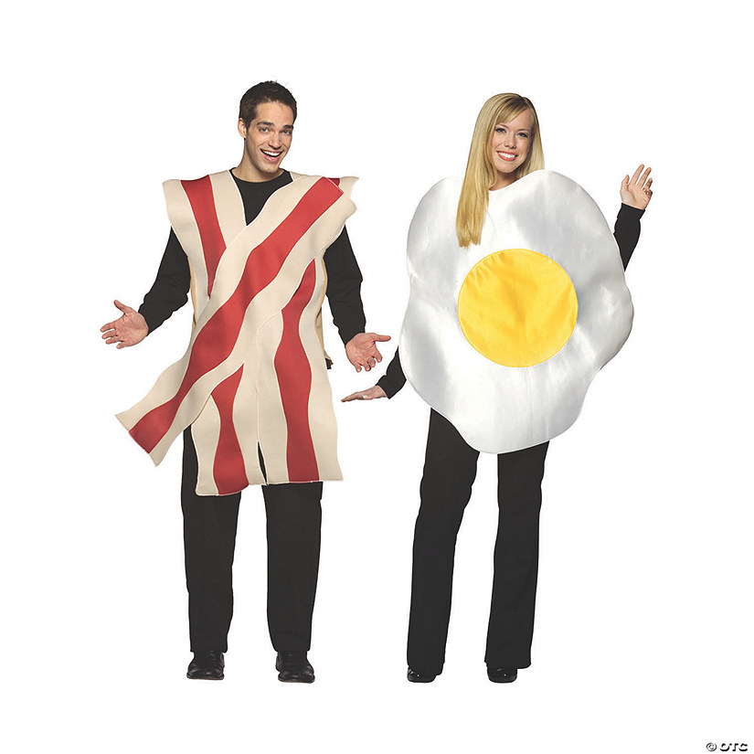 Adult Bacon & Egg Couples Costume Audio Thumbnail