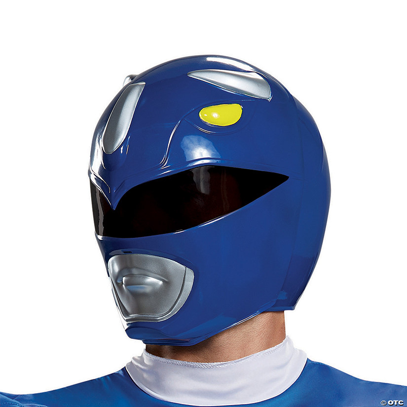 Adult Blue Power Ranger Helmet Audio Thumbnail