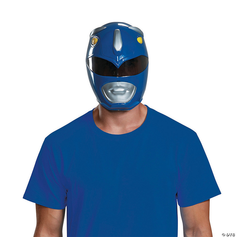 Adult Blue Power Ranger Mask Audio Thumbnail