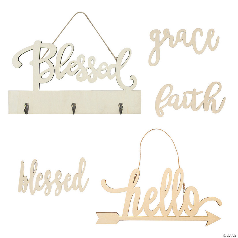Adult DIY Words Craft Kit Image Thumbnail
