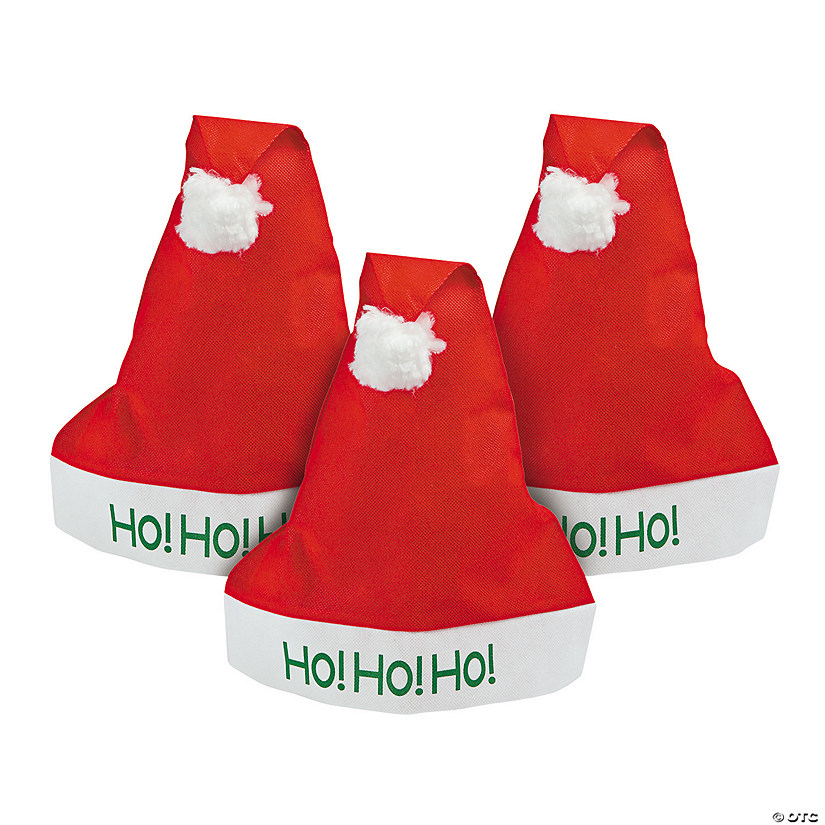 "Adult ""Ho! Ho! Ho!"" Santa Hats Audio Thumbnail"