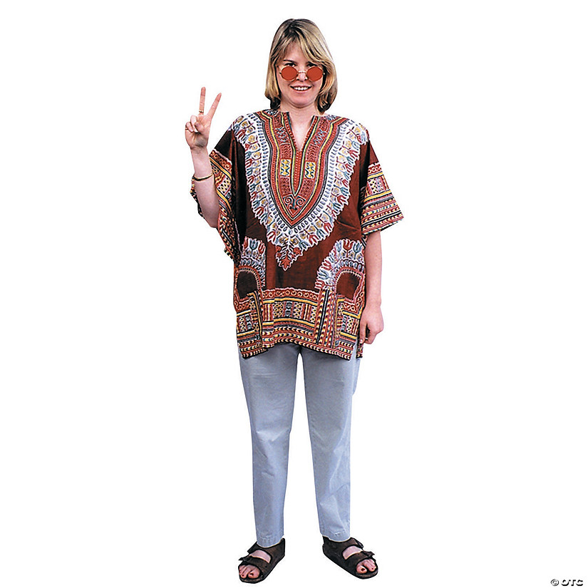 Adult Retro Dashiki Costume