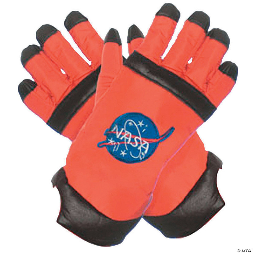 Adult's Astronaut Gloves - Orange Audio Thumbnail