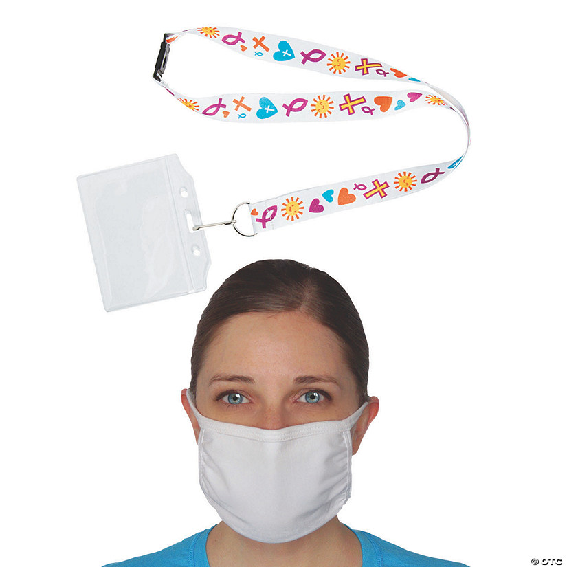 Adult's Faith Mask & Lanyard Set for 60 Image Thumbnail