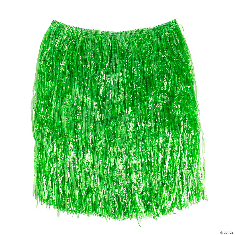 Adult's Green Hula Skirt Image Thumbnail
