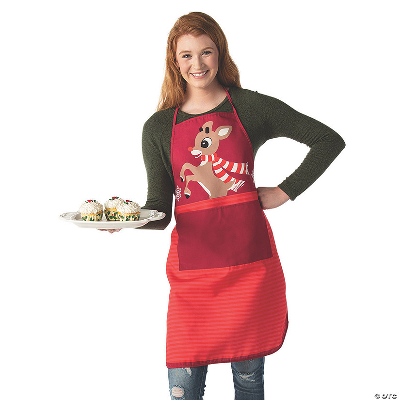 Adult&#8217;s Rudolph the Red-Nosed Reindeer<sup>&#174;</sup> Apron Audio Thumbnail