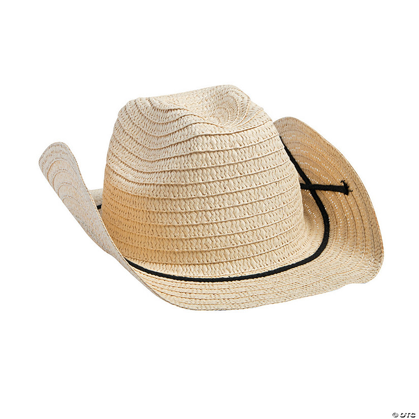 Adult's Western Hats with Band Audio Thumbnail