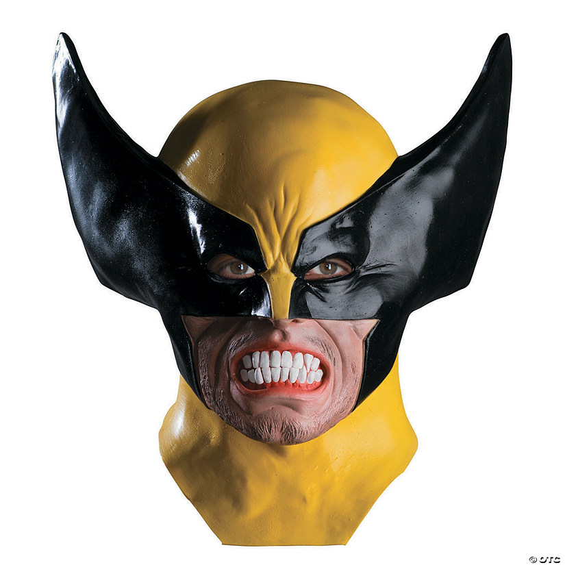 Adult&#8217;s Wolverine<sup>&#8482;</sup> Latex Mask Audio Thumbnail