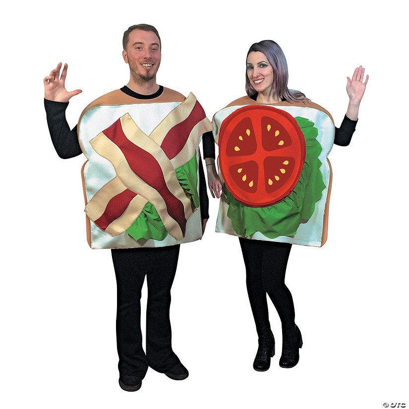 Adult's BLT Couples Costumes Audio Thumbnail