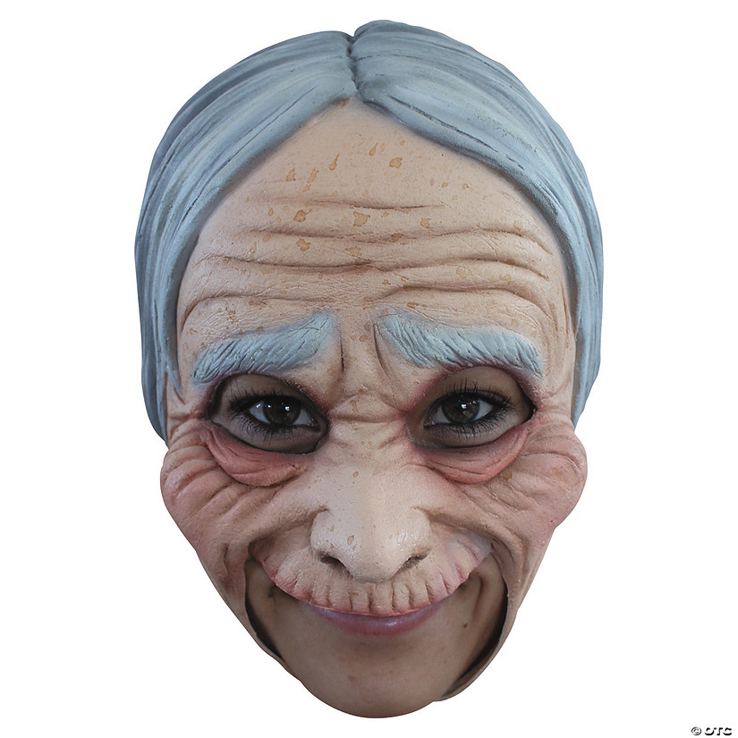 Adult's Chinless Old Lady Mask