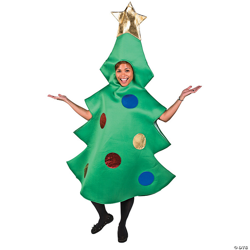 Adult's Christmas Tree Costume - Standard Audio Thumbnail