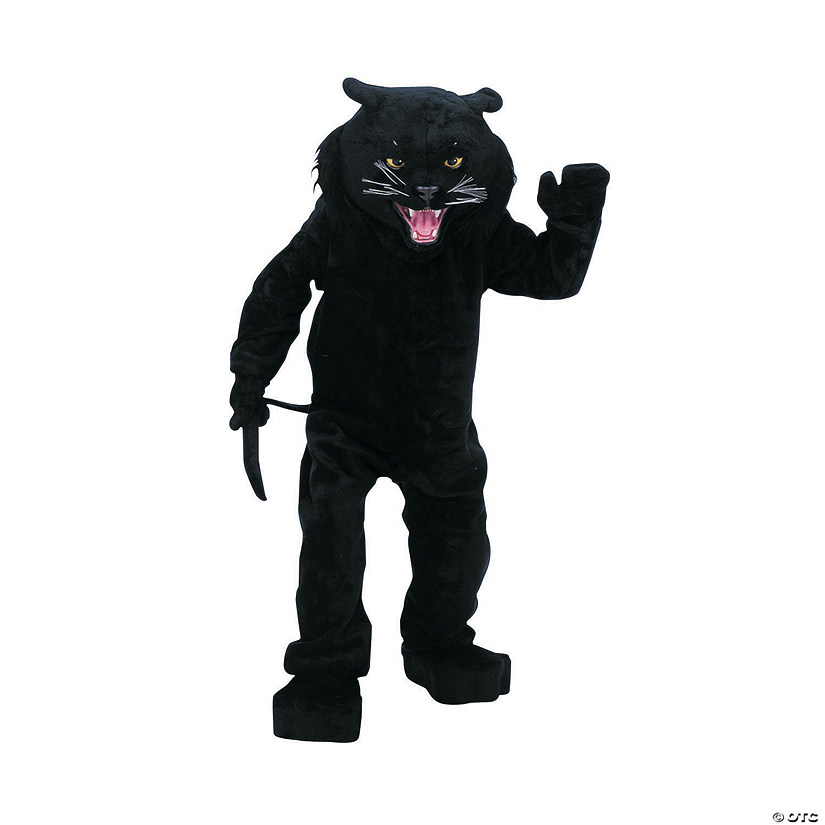 Adult's Complete Black Panther Mascot Costume Audio Thumbnail