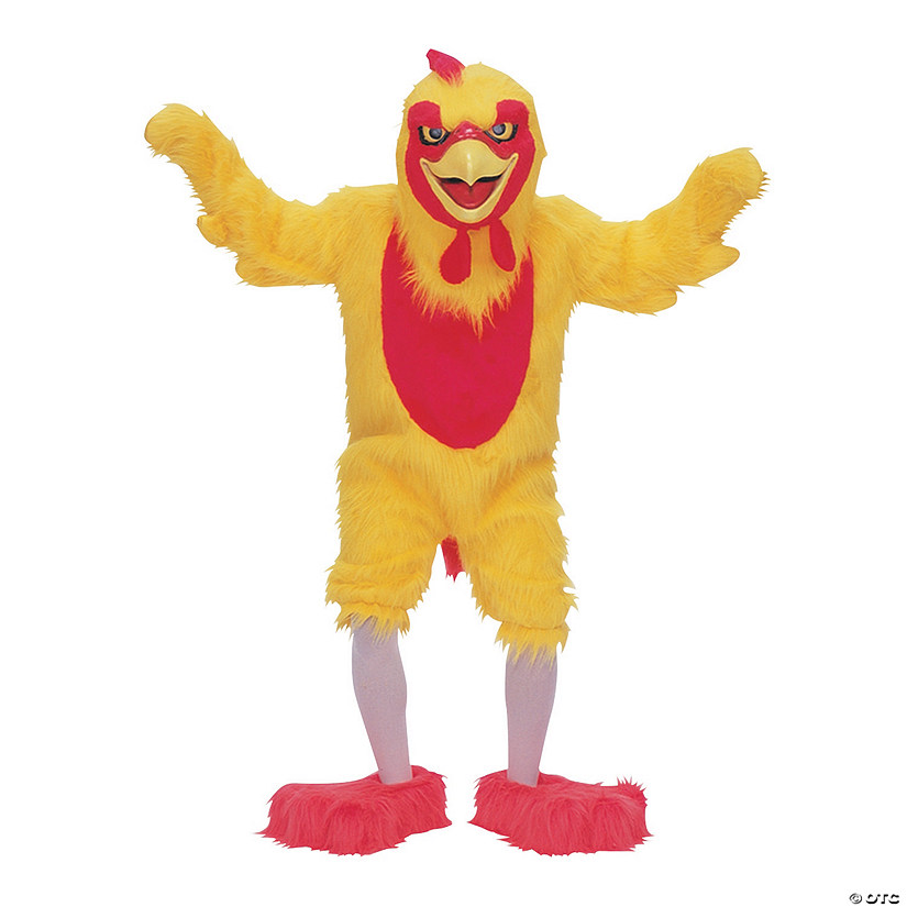 Adult's Complete Chicken Mascot Costume