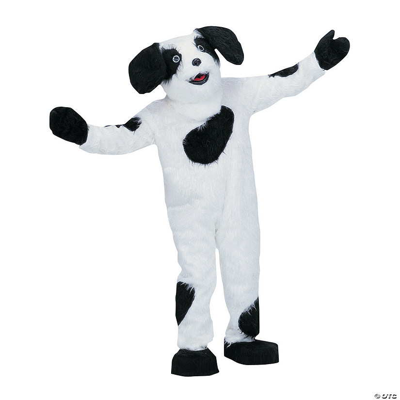 Adult's Complete Sheep Dog Mascot Costume