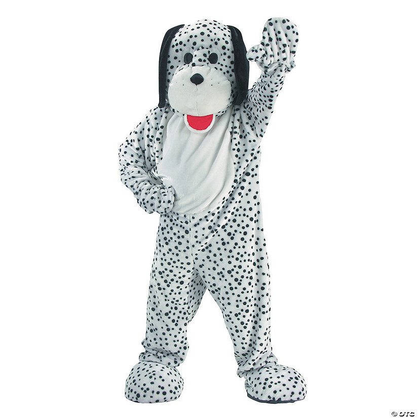 Adult's Dalmatian Dog Mascot Costume