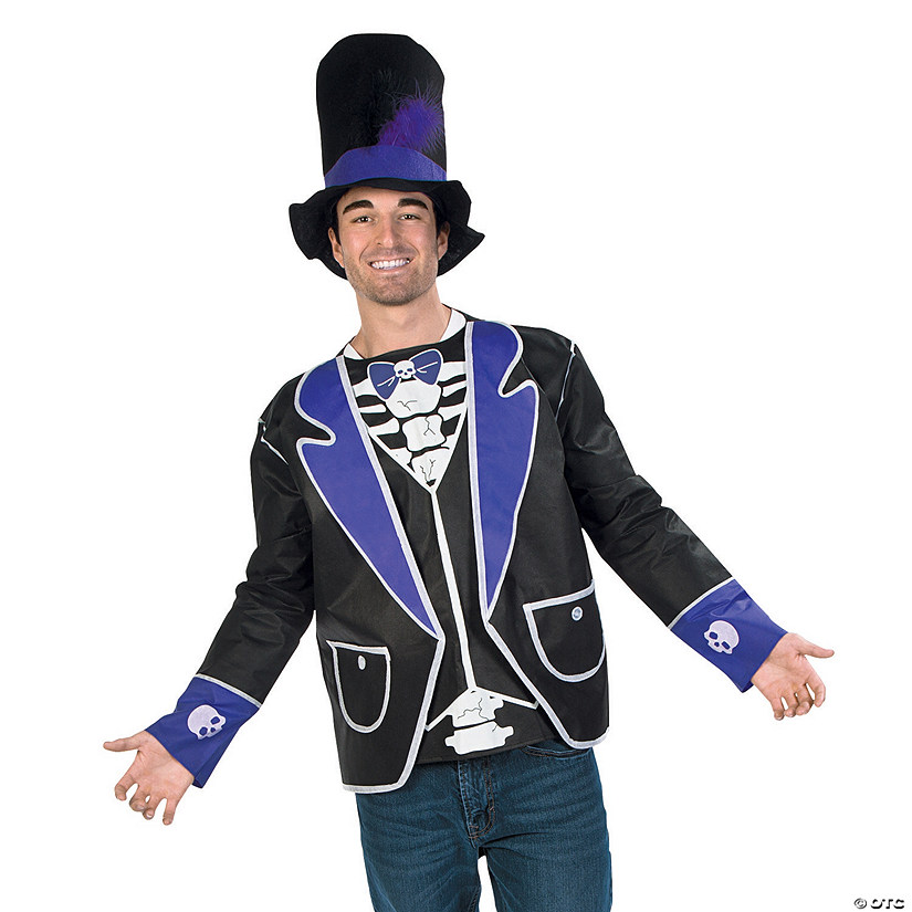 Adult's Day of the Dead Costume Kit