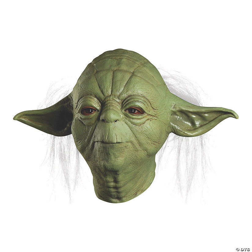 Adult's Deluxe Star Wars™ Overhead Yoda Mask