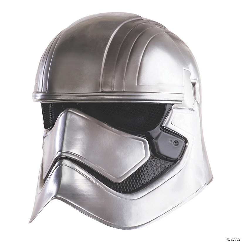 Adult's Deluxe Two-Piece Captain Phasma Mask