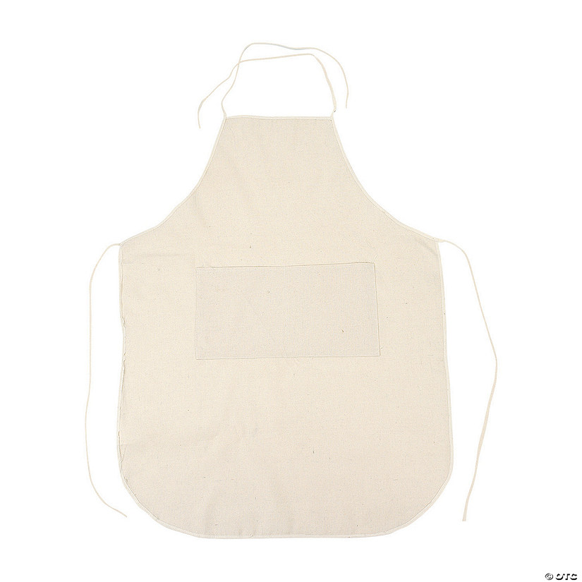 Adult's DIY Canvas Apron Audio Thumbnail