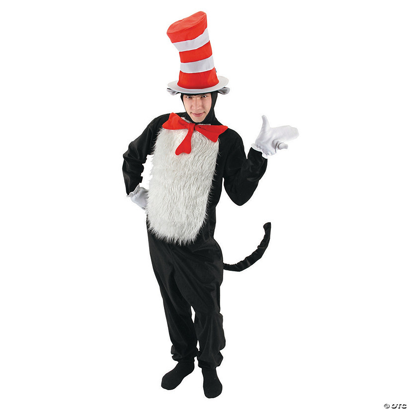 Adult's Dr. Seuss Cat In The Hat Costume