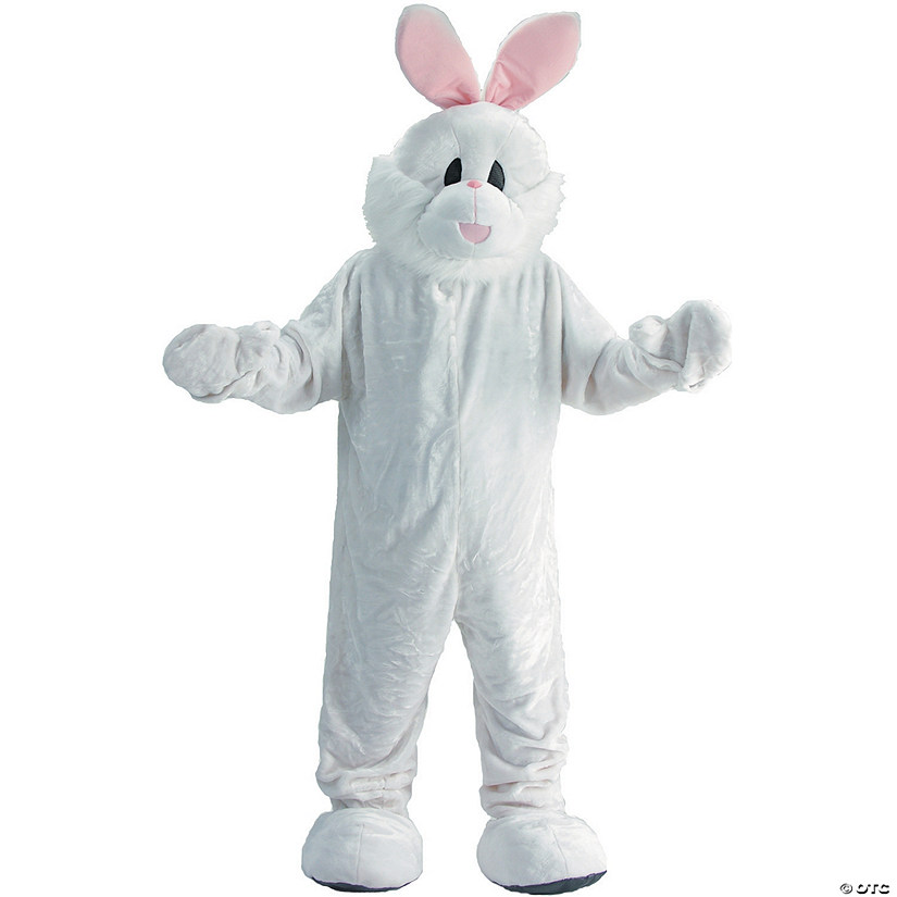 Adult's Easter Bunny Mascot Costume Audio Thumbnail