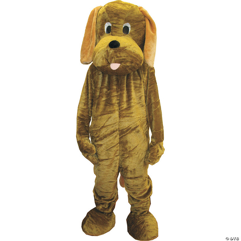 Adult's Floppy Ear Puppy Dog Mascot Costume Audio Thumbnail